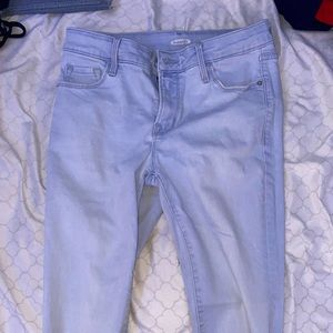 light wash old navy jeans